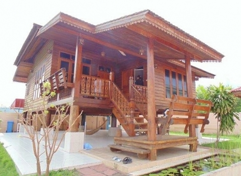 Hua Hin Thai Style House wood for Sale & rent
