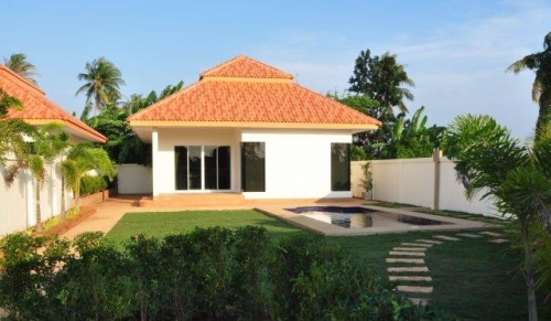 Hua Hin, Pranburi, pool, villa, for, sale